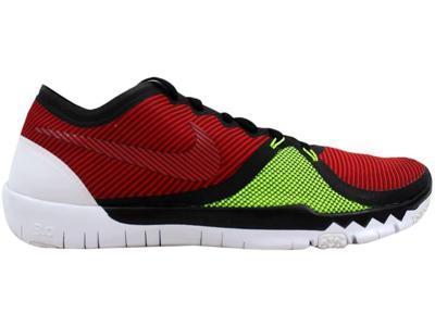 5917bc7d376 Nike Men s Free Trainer 3.0 V4 Black Team Red-University Red-Volt 749361