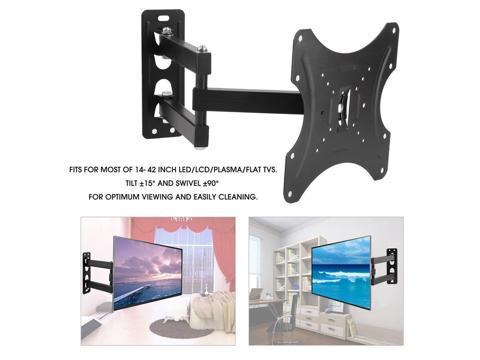 Swivel Tilt LCD LED TV Wall Mount Bracket Universal for 14-42 inch TV  Monitor